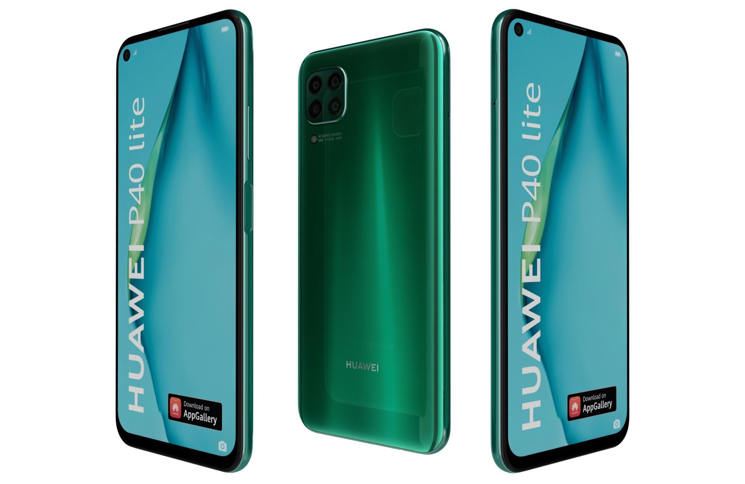 Huawei P40 Lite Emerald Green