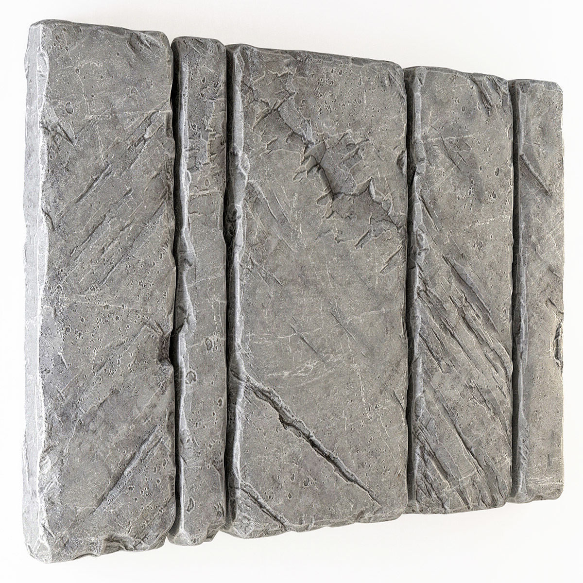 Slab stone wall n2