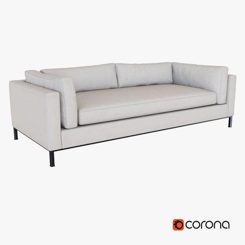 West Elm Modern Arm Sofa 3D Model