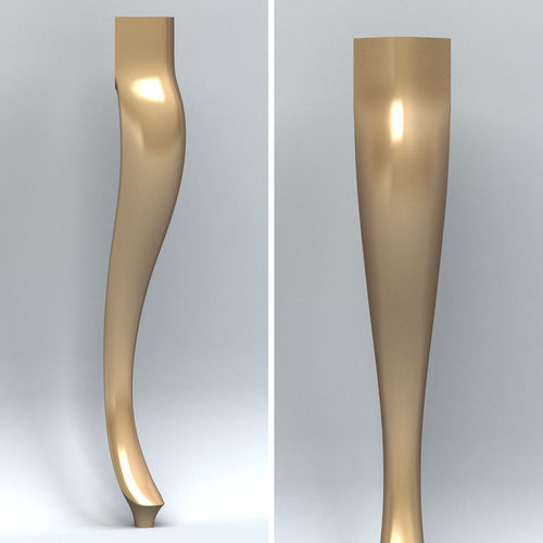 furniture leg 003 3d model max obj fbx stl 1
