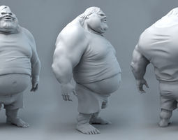 Fat Dude Jack 3D printable model