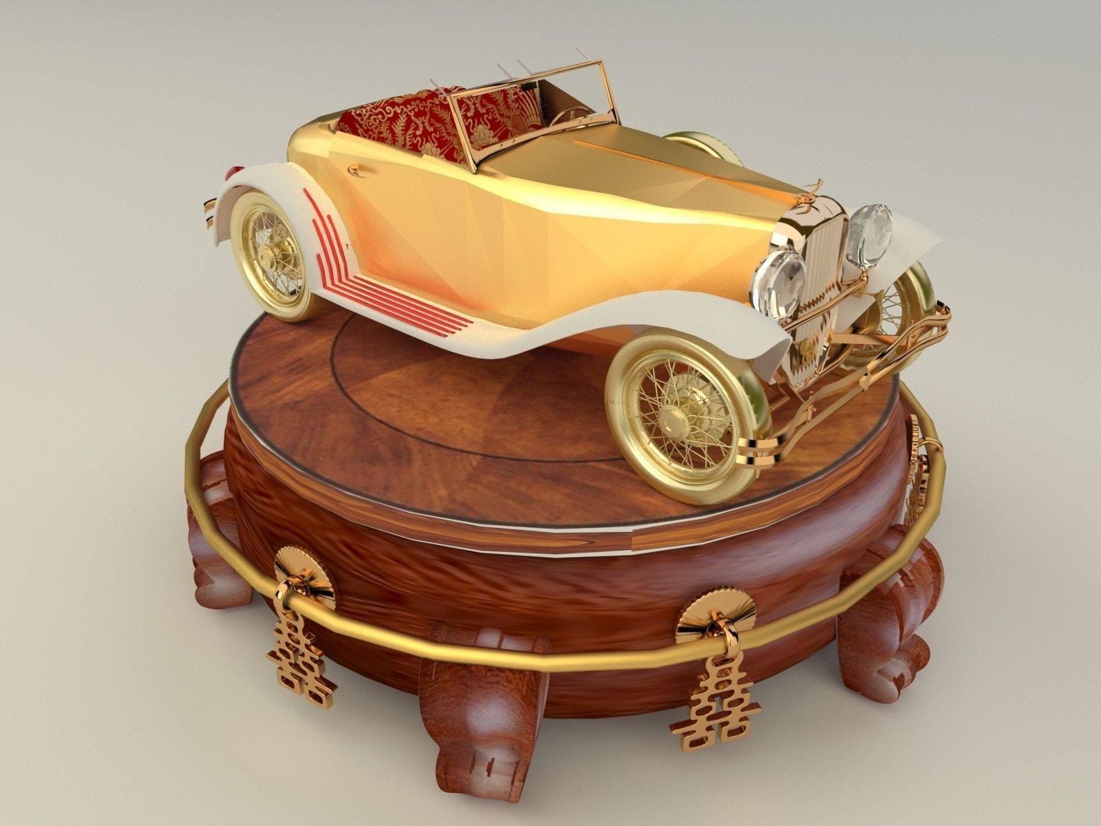 Chinese Display Stand With Classic Car 3d Cgtrader Free 3d arrow models for download, files in 3ds, max, c4d, maya, blend, obj, fbx with low poly, animated, rigged, game, and vr options. cgtrader