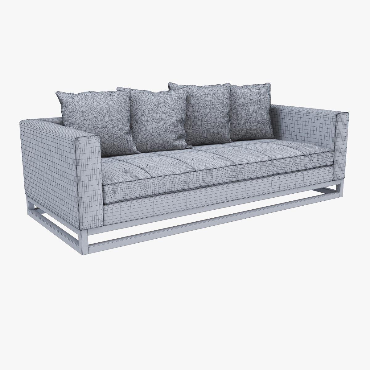 west elm toss back down filled sofa