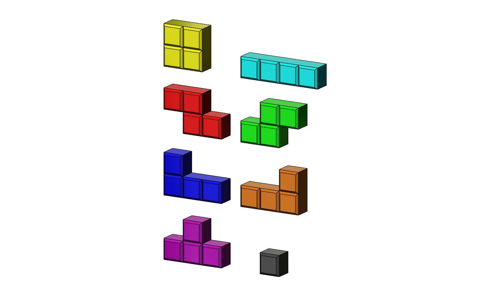 Tetrise blocks