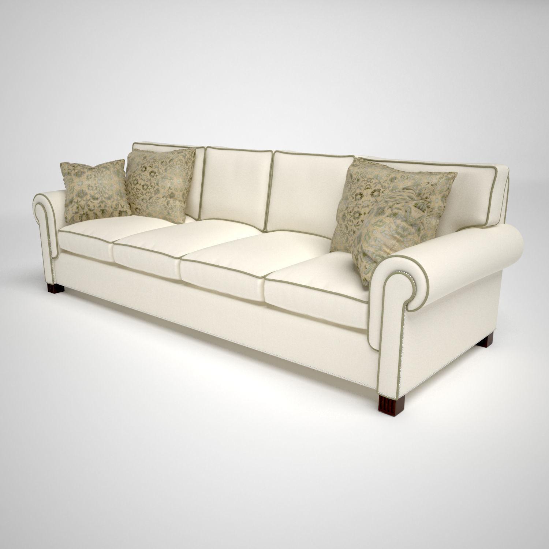 Classic Sofa 3D luxury   CGTrader