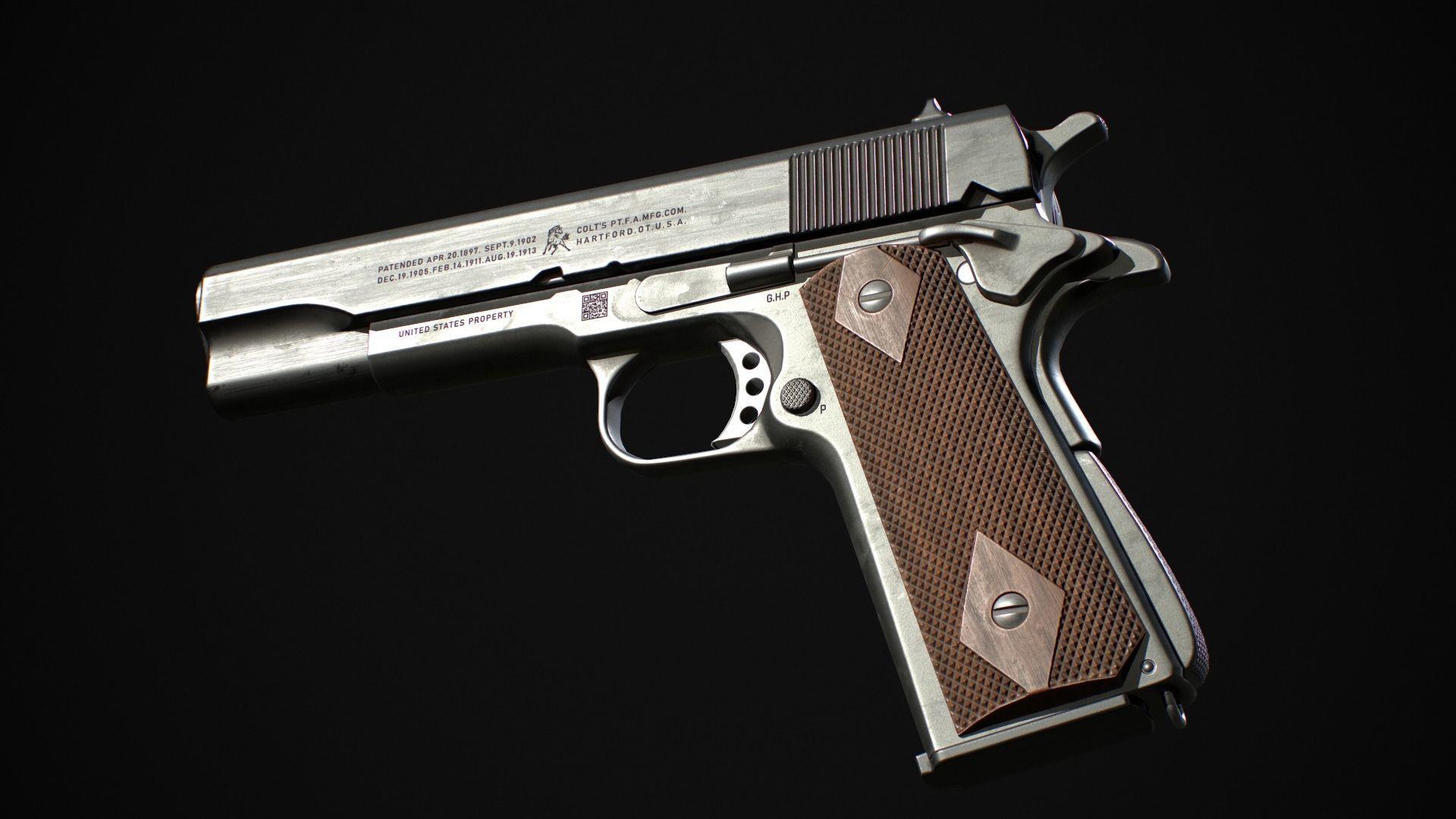 Colt 1911 Hand Gun