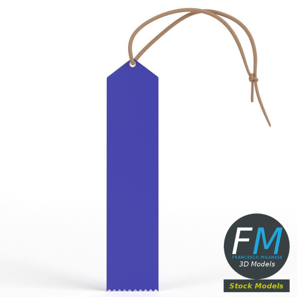 Peaked top ribbon award