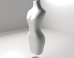 3D model Female Mannequin