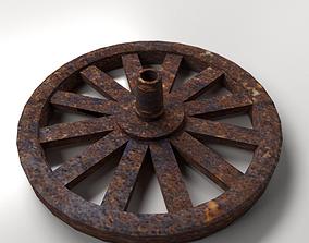 3D Old Wheel