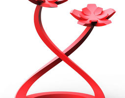 Flower Figure 3D printable model