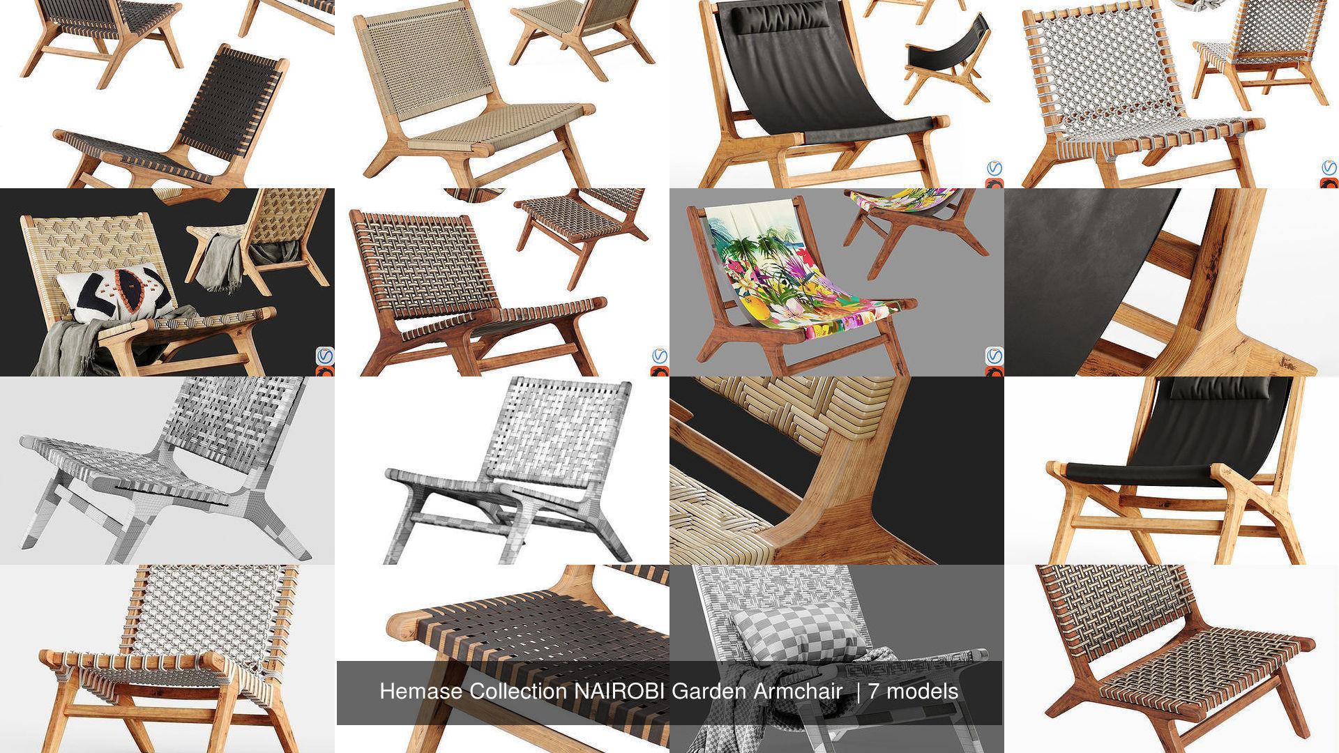 Hemase Collection NAIROBI Garden Armchair