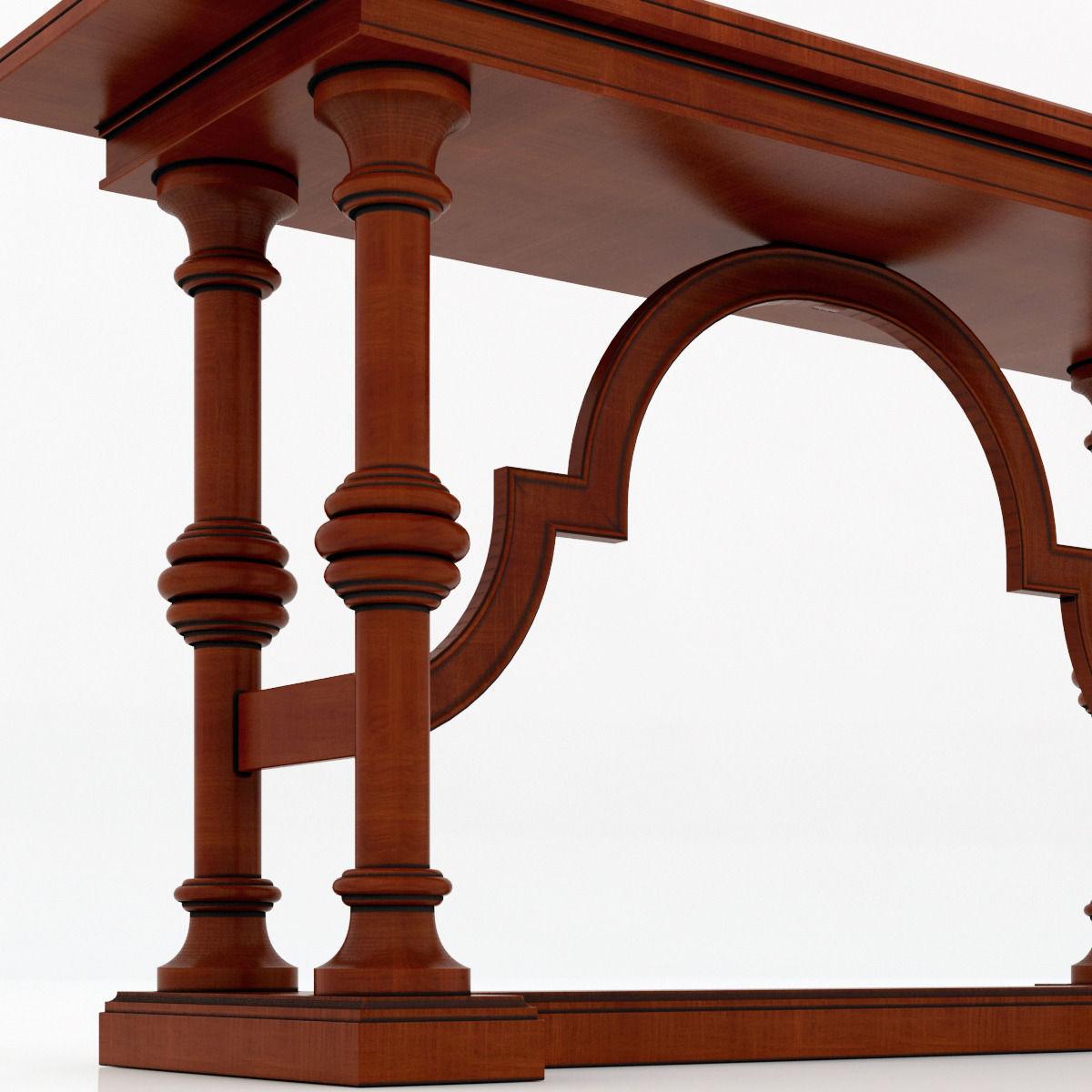 Flip Furniture Stanley Furniture The La Palma Portfolio Flip Top Console 3d Model
