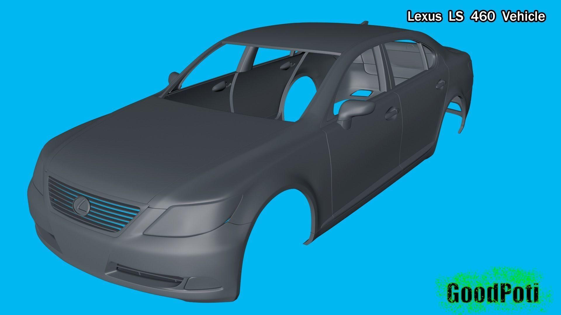 Lexus LS 460 Vehicle