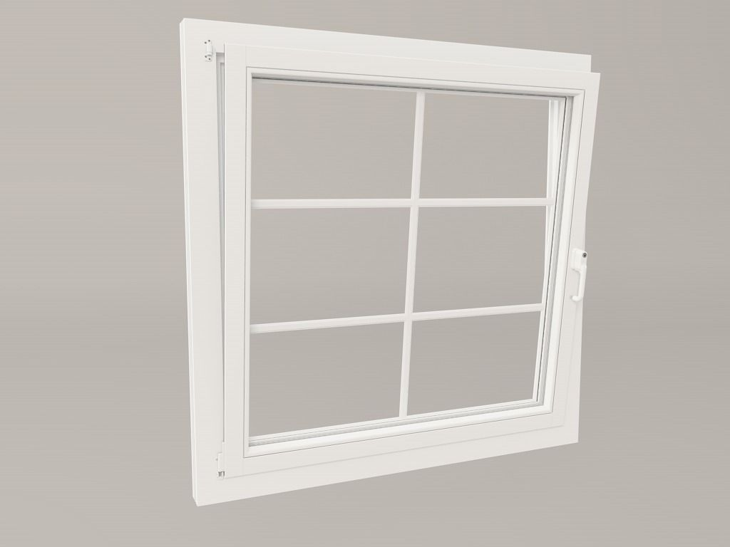 Realistic windows free 3d model fbx c4d for Window 3d model