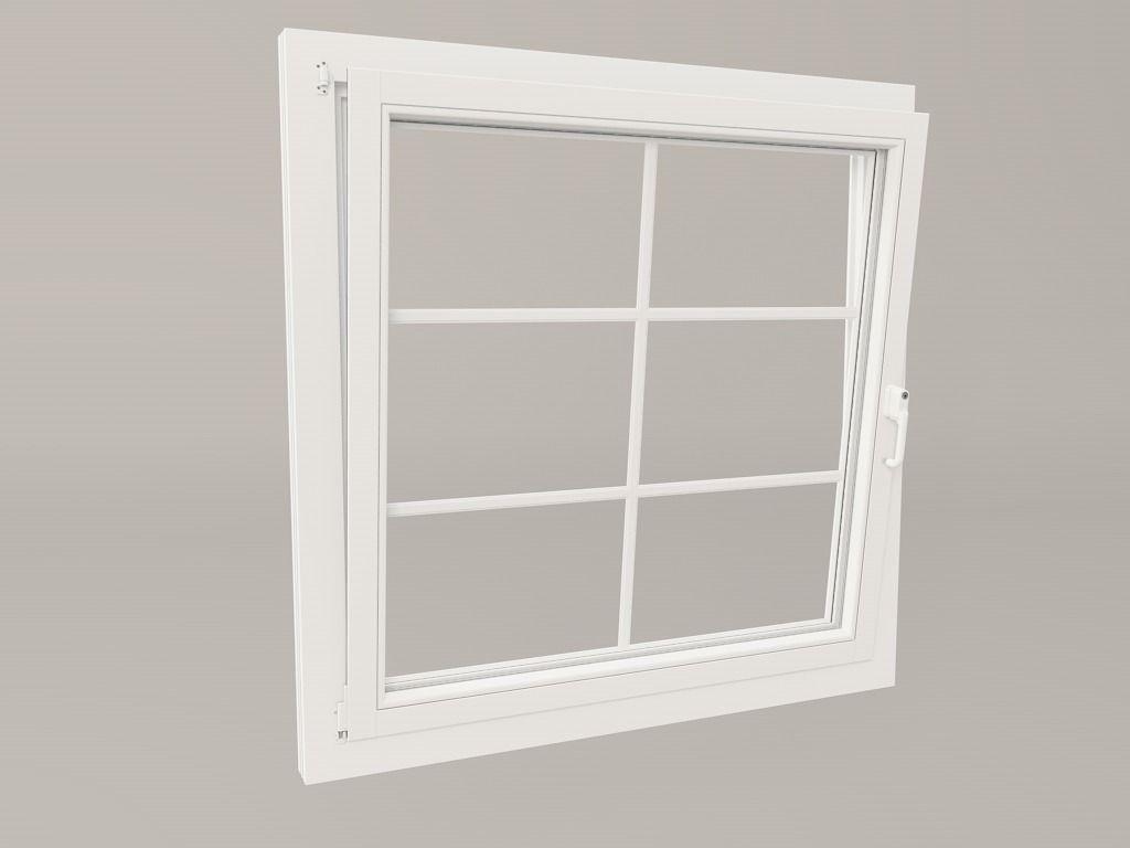 Realistic windows free 3d model fbx c4d for Window 3d model