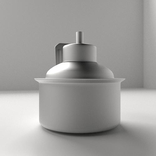 pelita kerosine lamp 3d model 3ds fbx blend dae 3