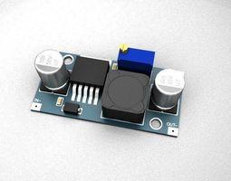 Power supply module DC-DC 3D