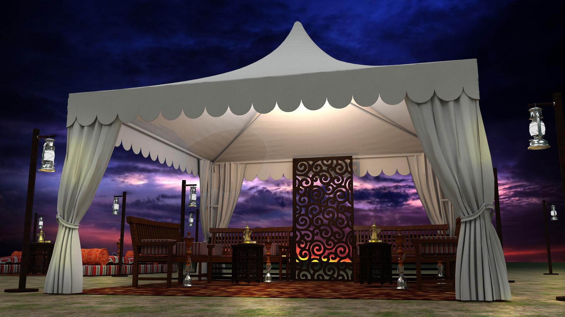 Event Tent arabic | 3D model
