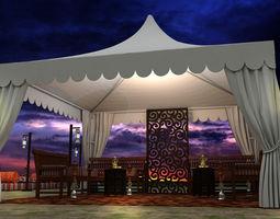 Event Tent arabic 3D model