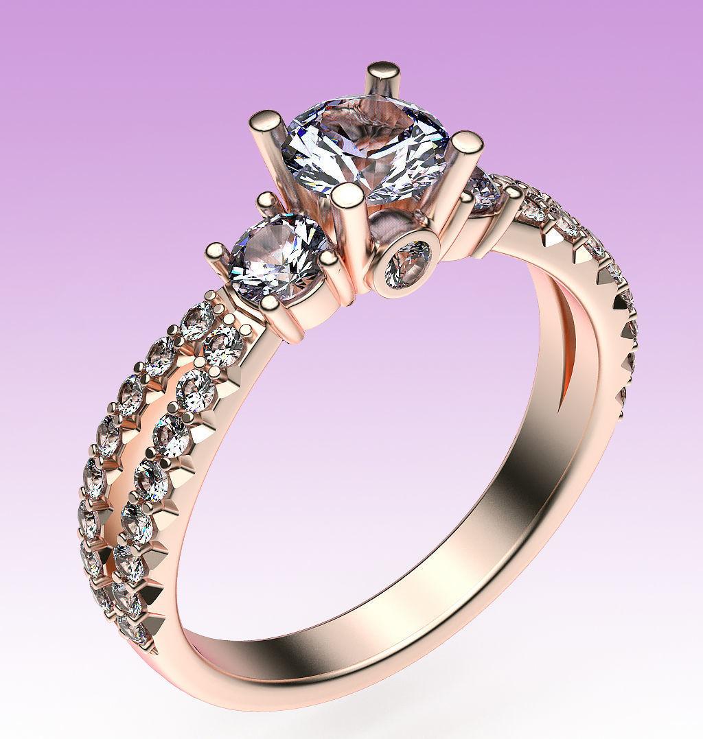 Ring Split Shank