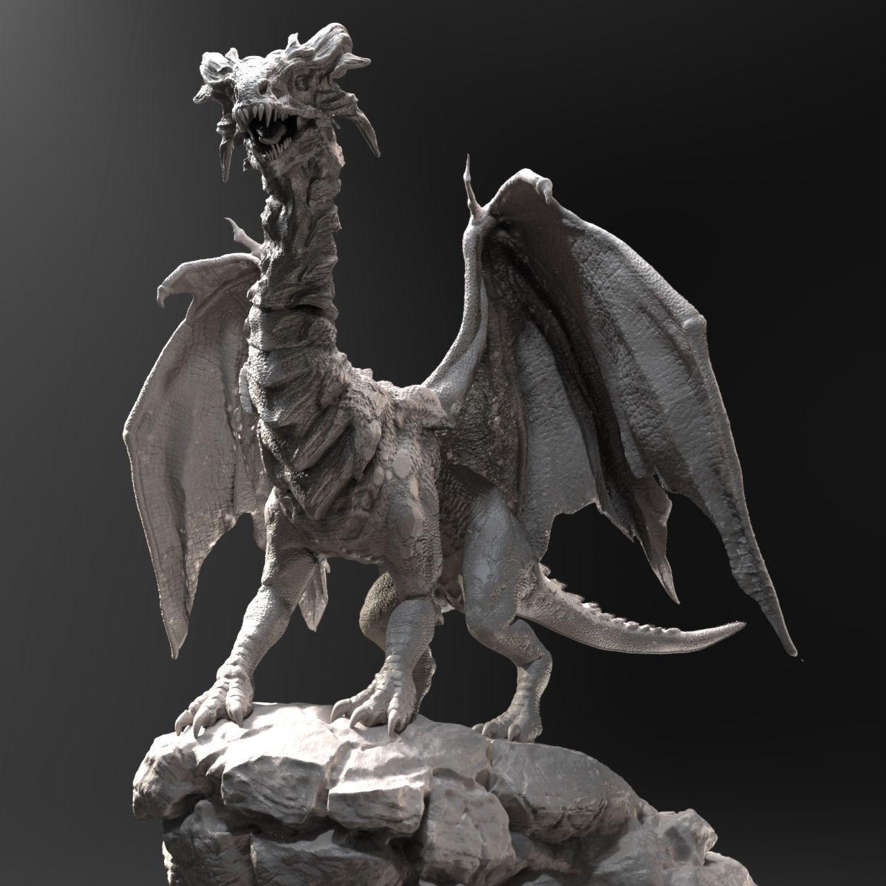 Dragon Zbrush HD