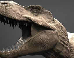 3d model realistic t-rex high poly