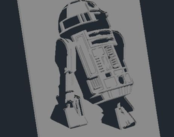 3d printable model star wars r2-d2