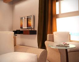 Contemporary Bedroom Collection Vol 1 3D