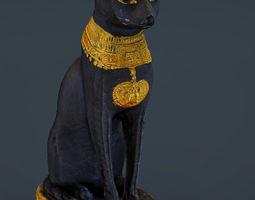 3D print model Egyptian Cat