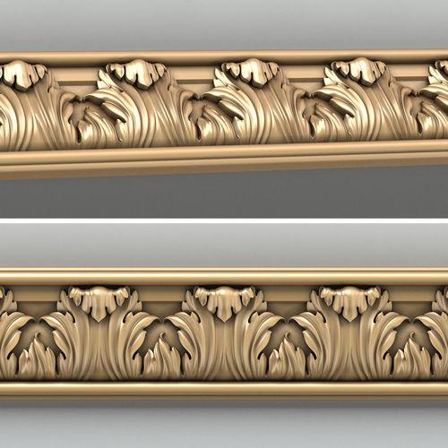 molding 004 3d model max obj fbx stl 1