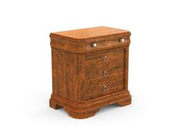 47 VINTAGE NIGHT STAND 3D Model
