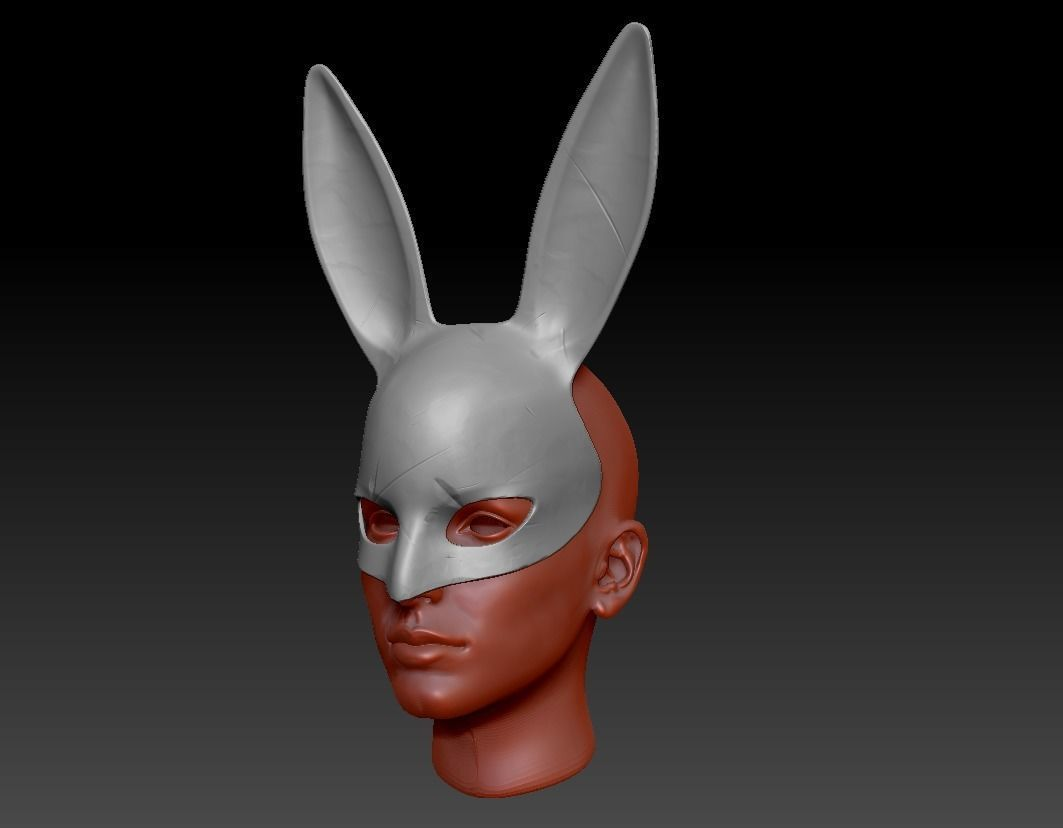 Detailed Bunny Mask