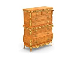 41 VERSAILLES DRAWER CHEST 3D Model
