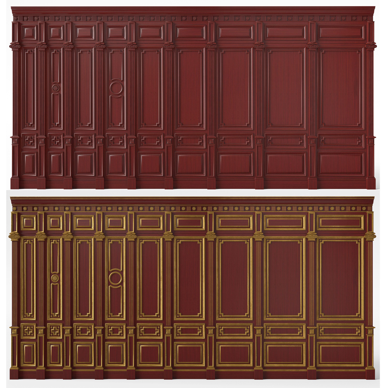 Wooden panels 03  02