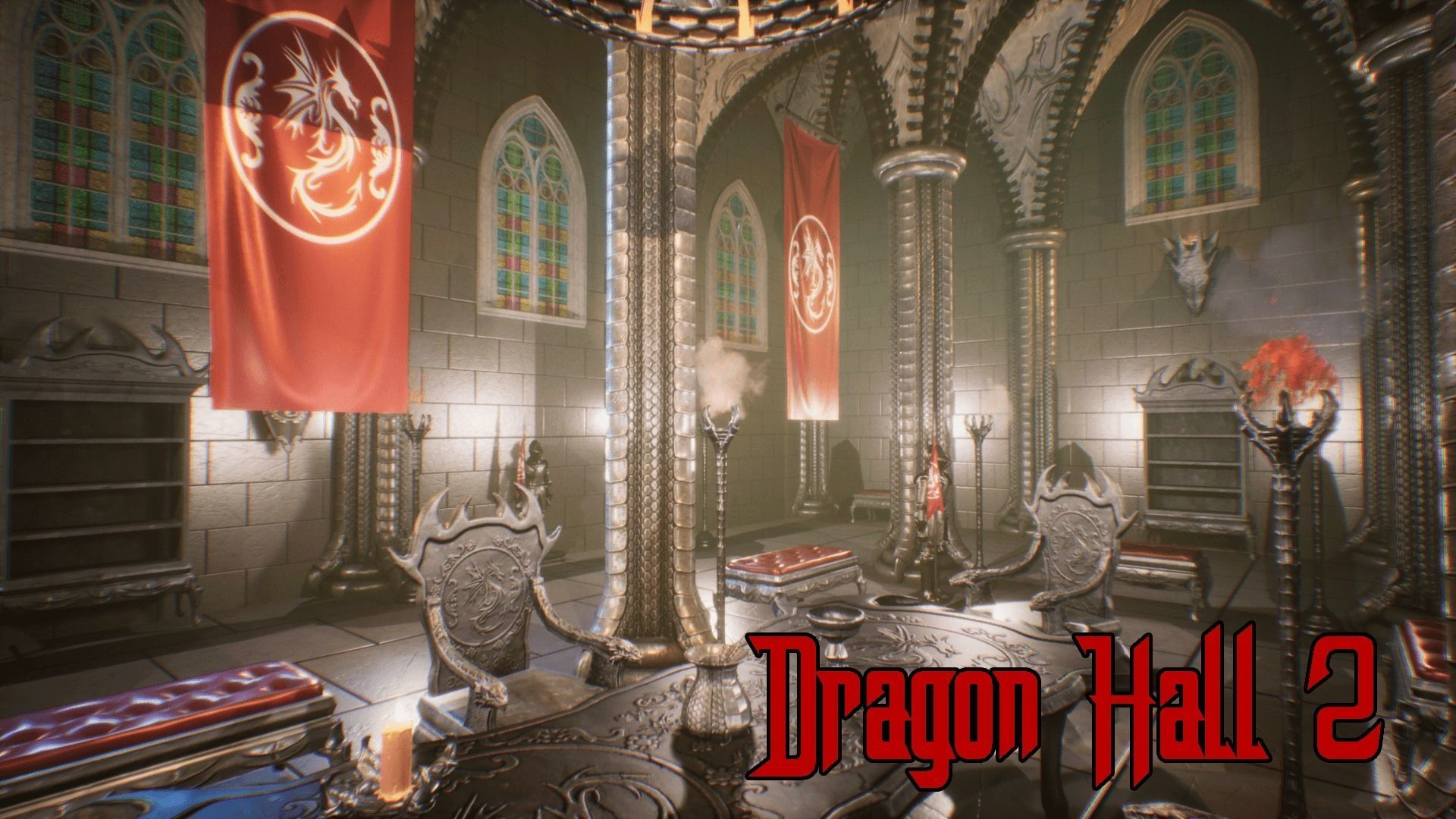 Dragon Hall 2 UNREAL Engine