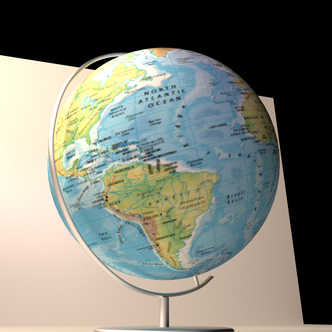 Globe 3d model cgtrader globe 3d model fbx blend dae 3 gumiabroncs Choice Image