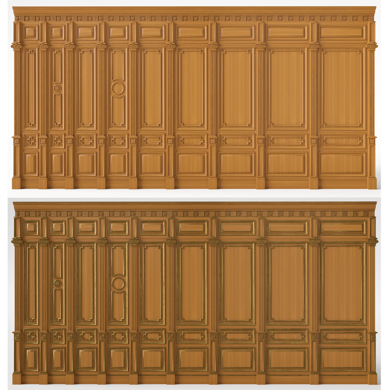 Wooden panels 03 03