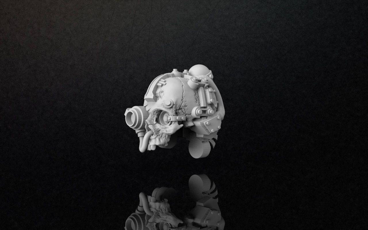 Servo Skull Model