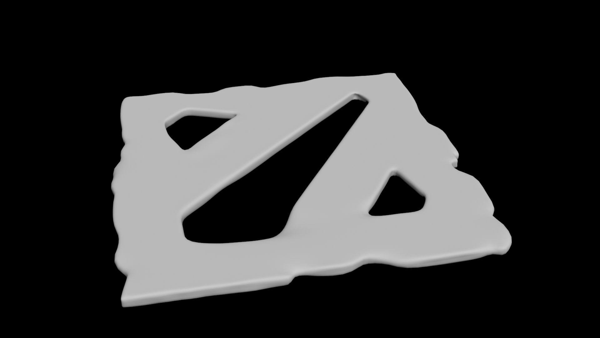 Dota 2 Icon Printable 3D Model 3D printable OBJ | CGTrader.com