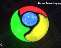3D print model Do-It-Yourself Google Chrome Lightbox