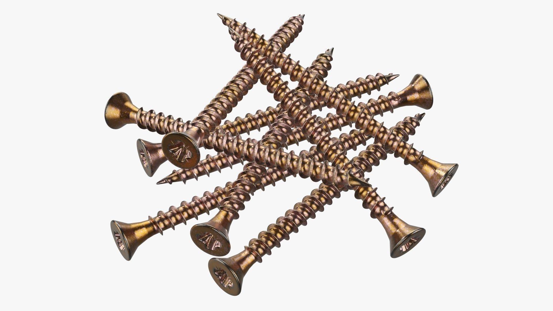Wood metal screws 02