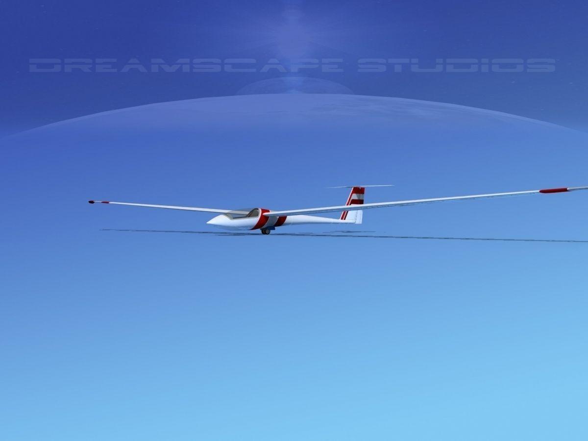 Schleicher ASW 22 Sailplane V10