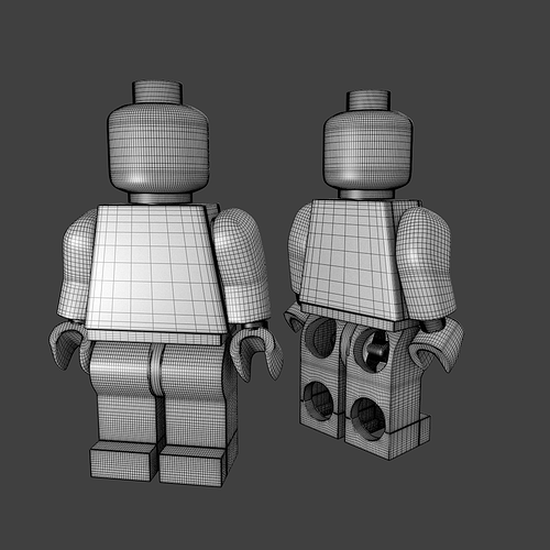 Lego Minifigure 3D | CGTrader