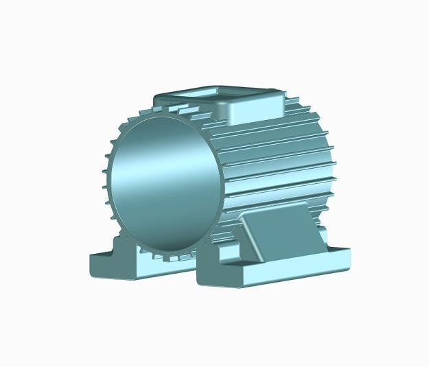 Induction Motor Body - Kids and Student Learning