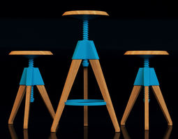 cosmo jerry bar stool 3D