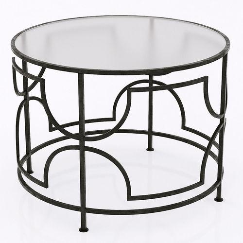 cyan designs edged rhombus table 3d model max obj mtl 3ds fbx 1