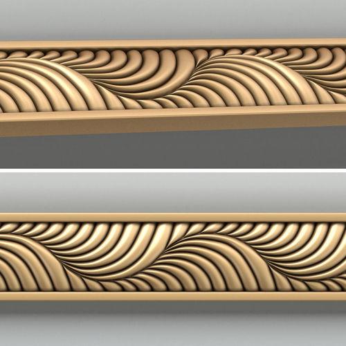 molding 007 3d model max obj mtl fbx stl 1