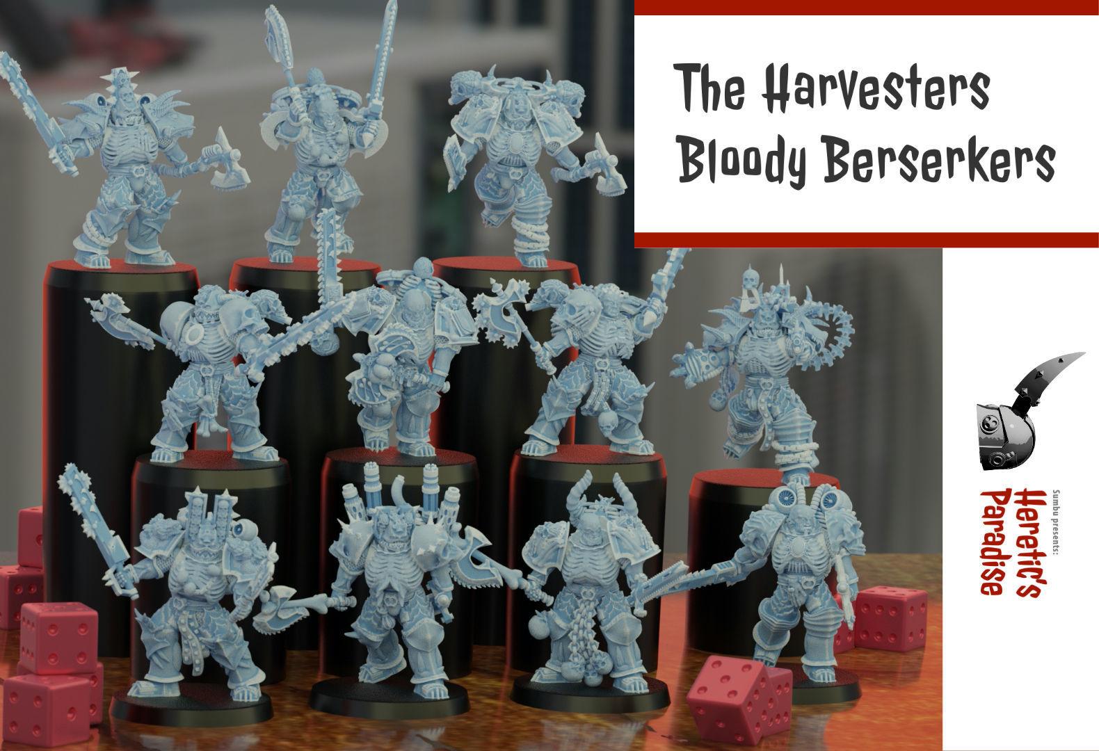 The Harvesters - Bloody Berserkers