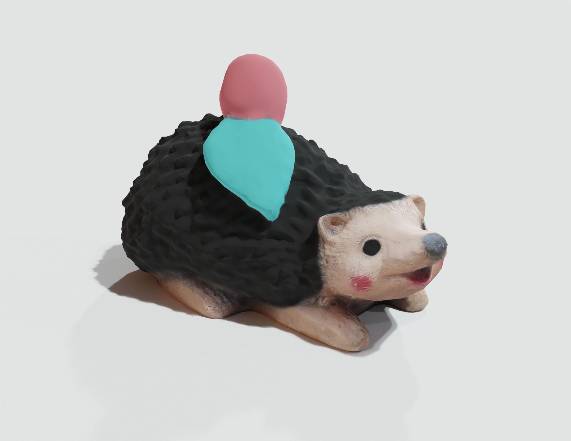 Garden Hedgehog statue