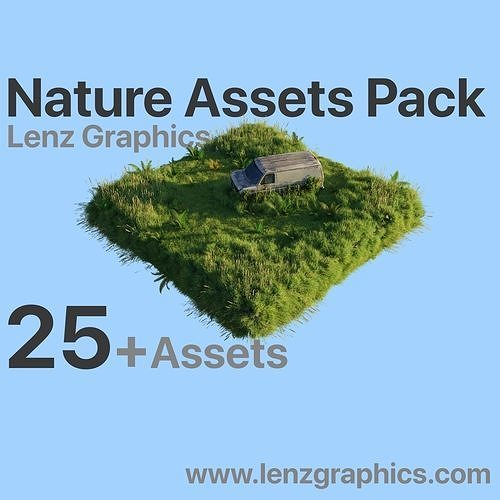 Realistic Nature Assets Pack